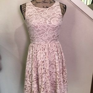 Soprano fit and flare dress